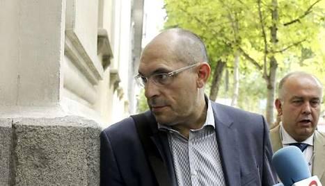 El juez Elpidio José Silva a su llegada al Tribunal Superior de Justicia de Madrid (TSJM). efe