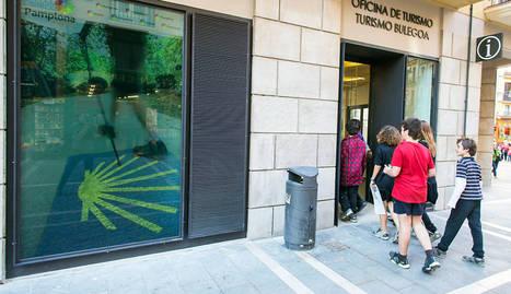San ferm n 2015 la oficina de turismo incrementa un 11 6 for Oficina turismo pamplona