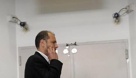 El exdirectivo Txuma Peralta, este sábado en la Audiencia. EFE./