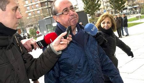 Exdirectivos de Osasuna en la Audiencia.EFE / J.M. Sánchez
