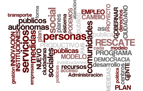 Nube de Podemos