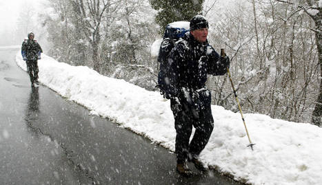 El tramo más duro del inicio de la ruta jacobea se cerrará en invierno