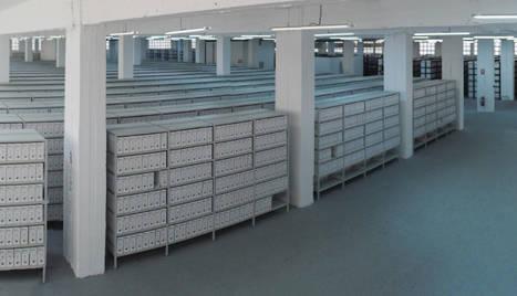 Vista de los archivos administrativos.