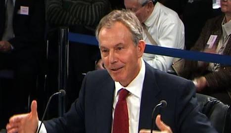 Blair pide perdón por la