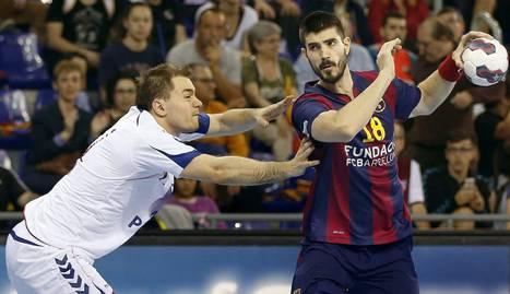 Eduardo Gurbindo, con el Barcelona.