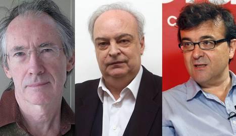 Ian McEwan, Vila Matas y Javier Cercas