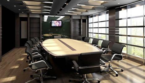 foto de una sala de reuniones