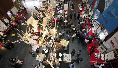 foto Feria de la Innovación y el Emprendimiento de la anterior edición de Pamplona Innovation Week