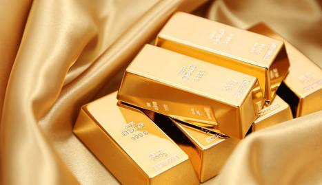 foto de lingotes de oro