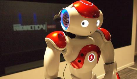 foto un robot en la presentación de la Innovaction Week en Madrid