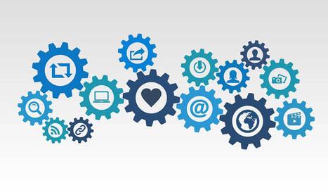 foto de una infografía sobre marketing digital