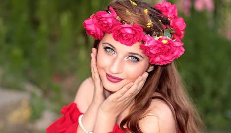 foto de una modelo mostrando su piel