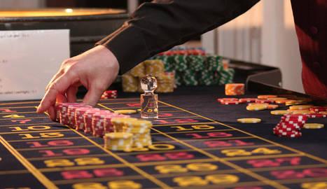 foto de una mesa de casino