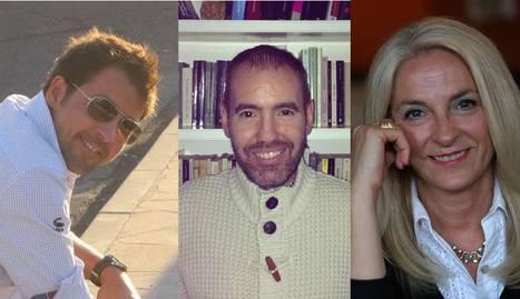Ignacio Lloret, Daniel Aldaya e Isabel Blanco