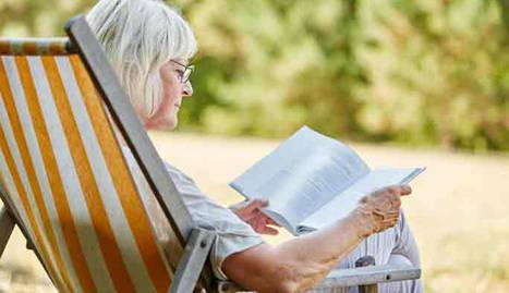 Pensionistas descansando