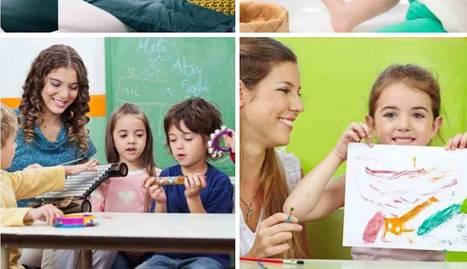 Fotomontaje de diferentes calses de Educación Infantil y Primaria