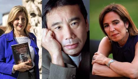 Eva García Sáenz de Urturi, Haruki Murakami y Reyes Calderón