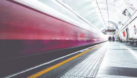 Foto del metro.