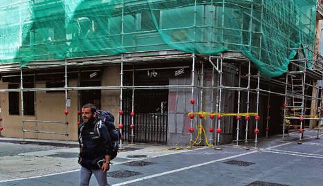 Rehabilitación de una vivienda en la calle Aldapa
