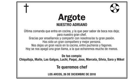 La especial despedida del bar Mavi a su chef, fallecido en un accidente en Los Arcos