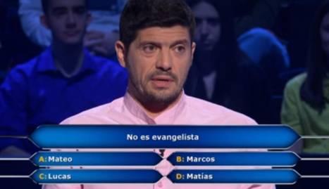 Manu Zapata homenajea a Los Lobos en  ¿Quién quiere ser millonario?