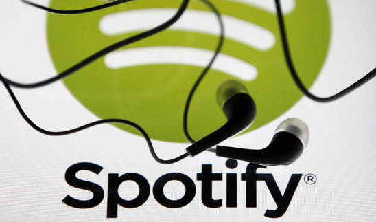 Logo del servicio de 'streaming' musical, Spotify.