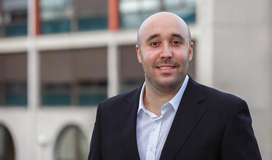 El ingeniero navarro Pablo Álvarez, autor de la tesis.