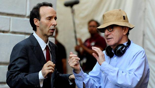 Woody Allen rueda en Roma su próxima película