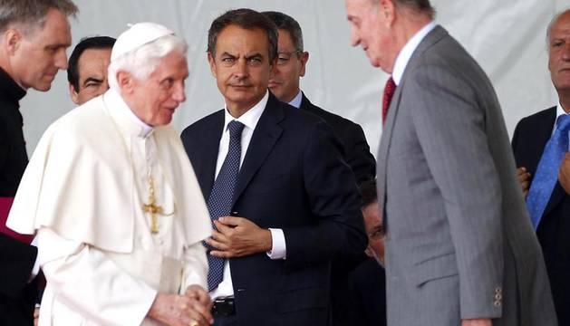 Visita del Papa Benedicto XVI a Madrid con motivo de la celebración de las Jornadas Mundiales de la juventud.