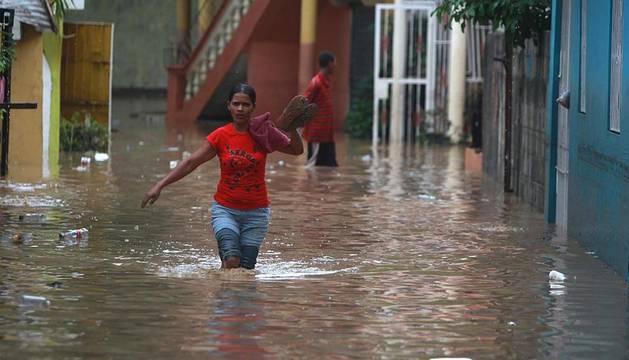 El paso de Irene por República Dominicana