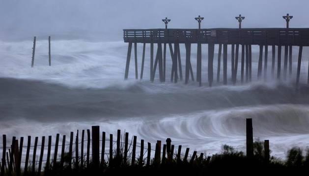 'Irene' azota la costa este de Estados Unidos