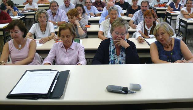 Comienzan las clases los universitarios mayores de 50 dentro del programa desarrollado por la UPNA para personas con esa edad o superior sin límite importar su nivel de estudios