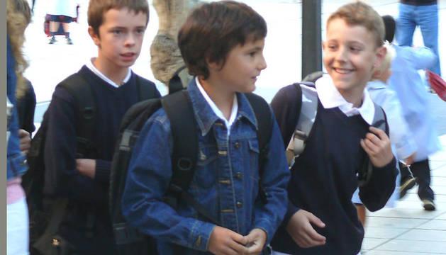 Los primeros escolares