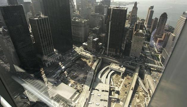 La Zona Cero, tras los atentados del 11 de septiembre