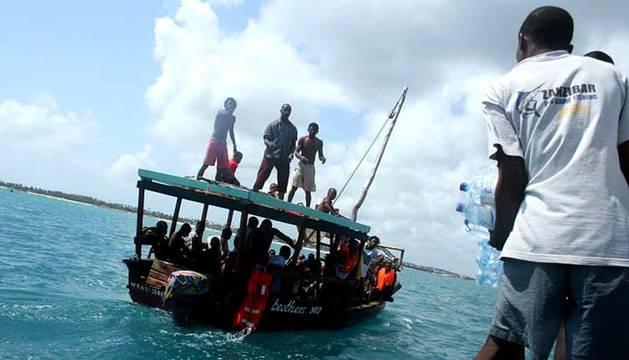 Hundimiento de un ferry en Zanzíbar