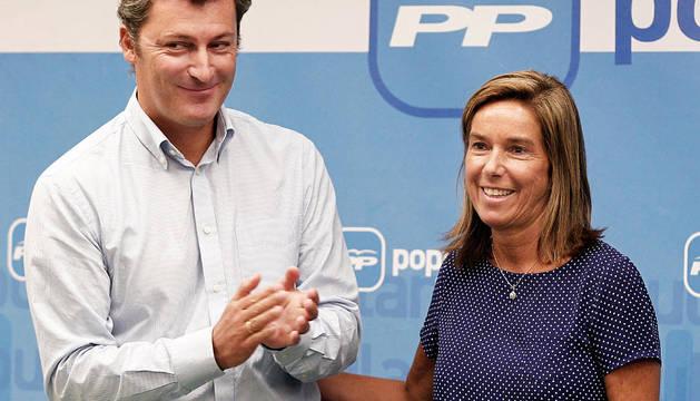 La vicesecretaria de Organización del PP, Ana Mato, ha acudido este sábado a la Junta Directiva Regional de los populares navarros, celebrada en el hotel Blanca de Navarra. En su alocución, ha destacado que con el pacto suscrito con UPN para que ambas formaciones concurran juntas a las elecciones del 20-N
