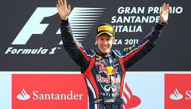 Gran Premio de Italia de Fórmula 1 disputado en el circuito de Monza. Vettel se ha impuesto por delante de Button y Fernando Alonso, que ha logrado un nuevo podio.
