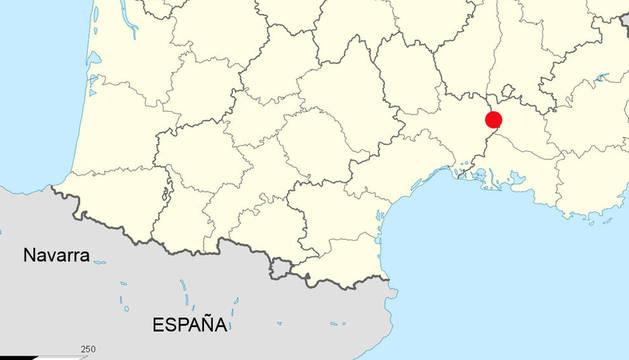 Central nuclear en Marcoule, Francia