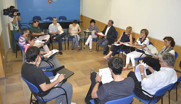 Reunión de la Mesa de los Sanfermines