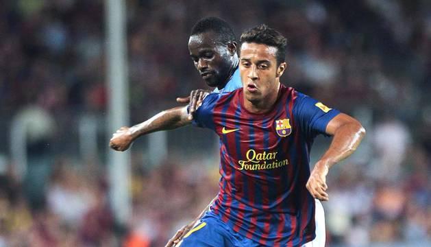 El Barcelona ha arrollado a Osasuna en el partido que han disputado este sábado en el Camp Nou