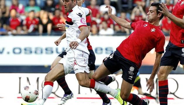 Partido entre Osasuna-Mallorca en el Reyno de Navarra