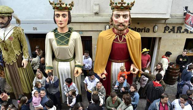 Último fin de semana de las fiestas de Villava 2011 en el que los niños fueron los protagonistas