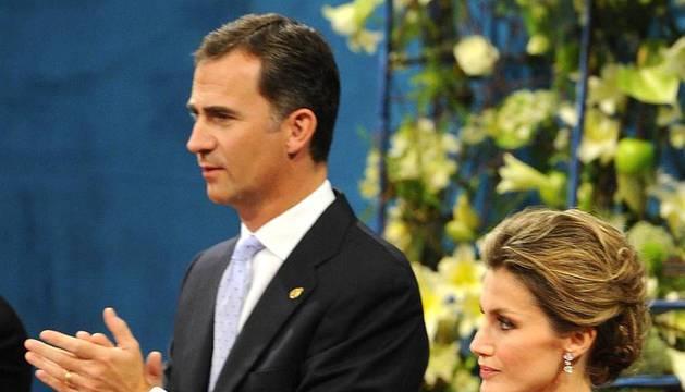 Entrega de insignias por los Premios Príncipe de Asturias