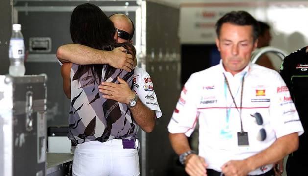 Imágenes del circuito de Sepang en Malasia tras conocerse la noticia de la muerte de Marco Simoncelli