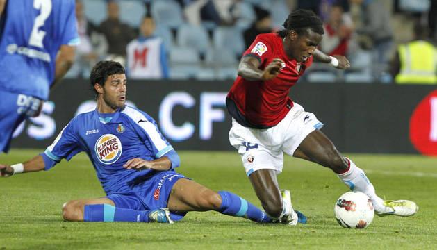 Imágenes del partido entre Getafe y Osasuna