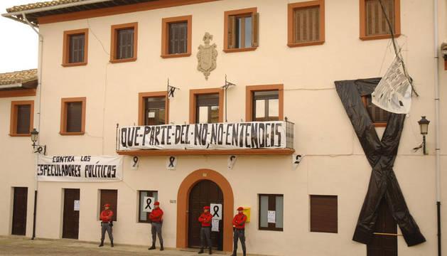 El Ayuntamiento de Garínoain la pasada semana