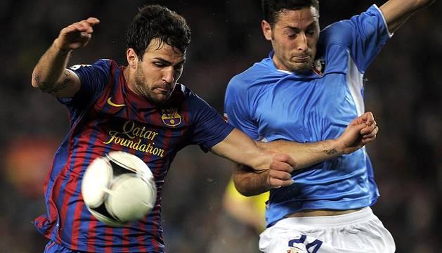 Imágenes de la eliminatoria de Copa del Rey entre el FC Barcelona y Osasuna