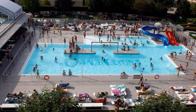 Una piscina del Anaitasuna