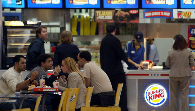 Un establecimiento de la compañía Burger King