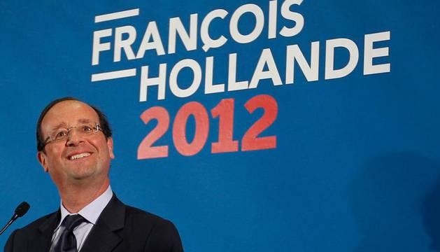 Hollande, el principal rival de Sarkozy